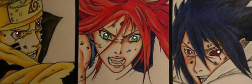 Naruto 689 - Team 7 Strikes !!! by Alishay1993