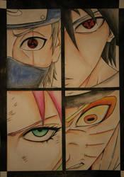 Naruto - Team 7 by Alishay1993