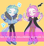 - CLOSE - 100 POINTS SB AUCTION HALLOWEEN SERIES 5 by Purple-Sleep