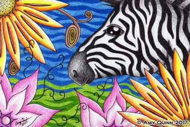 Hidden Zebra by KemicalReaxion