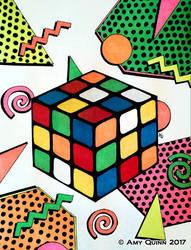 Nostalgia: Rubix Cube by KemicalReaxion