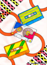 Nostalgia: Cassette Tapes by KemicalReaxion