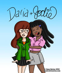 Daria and Jodie by KemicalReaxion