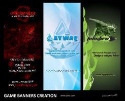 Game banners by yiolo
