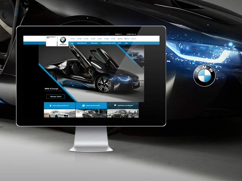 Bmw - Redesign by yiolo