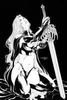 Lady Death new piece 02 by danielhdr