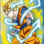 Goku ssj2 by fuudo