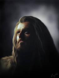 Thorin Oakenshield by Aegileif