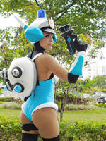 Patricia Wagon / Mighty Switch Force! by LeslieSalas