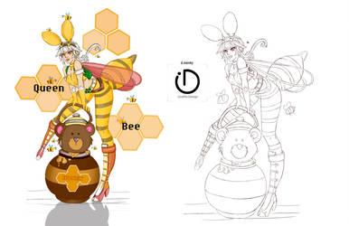 My Queen Bee by LeslieSalas