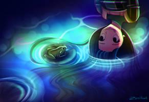 Froppy meets Froggy by MimiiKaty