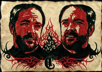 Supernatural - Crowley 3 by weedenstein