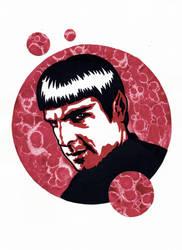 Star Trek - Mirror!Spock 2 by weedenstein