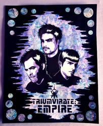 Star Trek - Mirror!Triumvirate by weedenstein