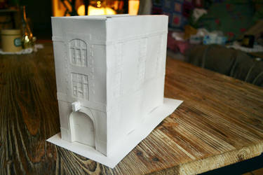 Paper Hollywood - Piece 2 : Ghostbusters Firehouse by christophosaure