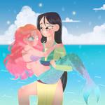 Disney princess comm by Lemanntim