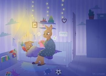 Children's book illustration by Lemanntim