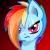 Crystal War: Rainbow Dash Icon