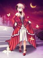 Martha, lady of crimson night by maxwindy