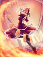 Elizabeth Fireheart by maxwindy