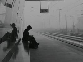Train Station, 8.55 A.M. by dibutade