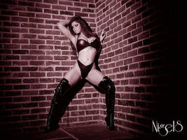 Back against the wall by Laurenlangley
