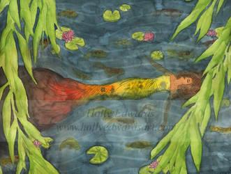 Koi River by Ariana-Blossom