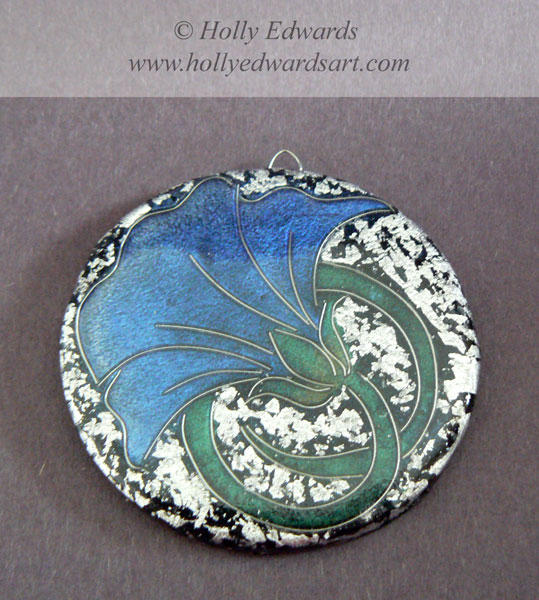 Art Nouveau Flower Pendant 2 by Ariana-Blossom