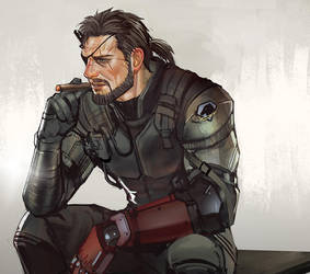 Metal Gear Solid V : Phantom Pain Venom Snake by Mstrmagnolia