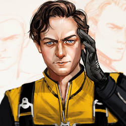 Charles Xavier by Mstrmagnolia