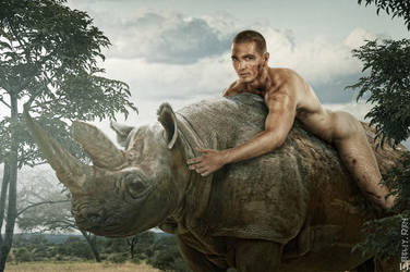 Rhino III by belenkiyden