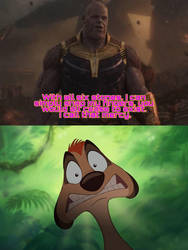 Who's scared of Thanos Meme 0 by kouliousis