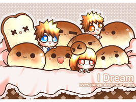 I Dream : Happiness Bread by Punyu