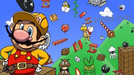 Super Mario Maker by LargeStupidity