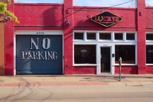 Please do not park here by DeepSlackerJazz