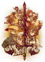 Touhou Fantasy XIV by vinhnyu