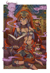 Scheherazade and the Hash Djinn by vinhnyu