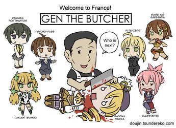 Gen the Butcher by vinhnyu