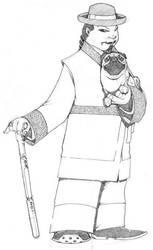 Steampunk Musha concept 2 by vincentkukua