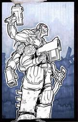 Cyberforce - Stryker by vincentkukua