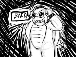 IMBACK sketch by FatBlackMoth