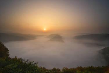 Saarschleife sunrise by FlorinALF