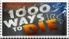 1000 Ways to Die Stamp by Apple-Panties