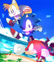 Sonic Mania ADVENTURE by aoii91