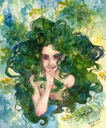 The Dryad by H-Johanna