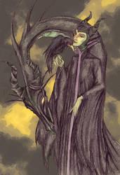 Maleficent by H-Johanna