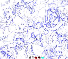 Arnus Sketches! by NewWorld9