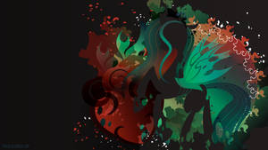 Chrysalis Silhouette Wall by SambaNeko
