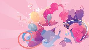 Pinkie Pie Silhouette Wall by SambaNeko