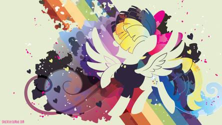 Songbird Serenade Silhouette Wall by SambaNeko